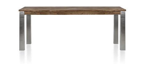 Masters, Tisch 200 x 100 cm - Edelstahl 9x9