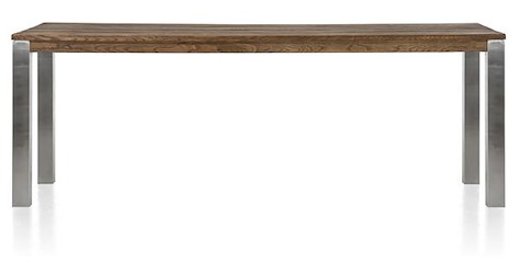 Masters, Tresentisch 260 x 100 cm - Edelstahl 9x9