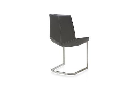 levi edelstahlstuhl viereckiges gestell catania leder henders hazel. Black Bedroom Furniture Sets. Home Design Ideas