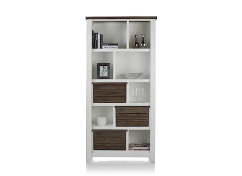 velasco b cherregal gross 3 korben 7 nischen henders. Black Bedroom Furniture Sets. Home Design Ideas