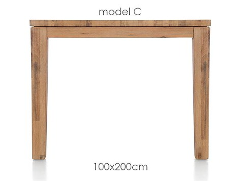 A La Carte, Tisch 200 x 100 cm - COR