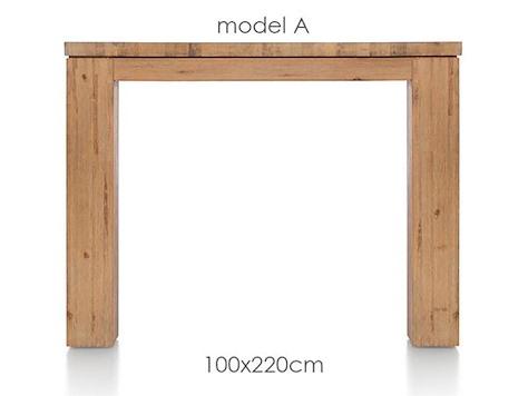 A La Carte, Tisch 220 x 100 cm - AAD-1