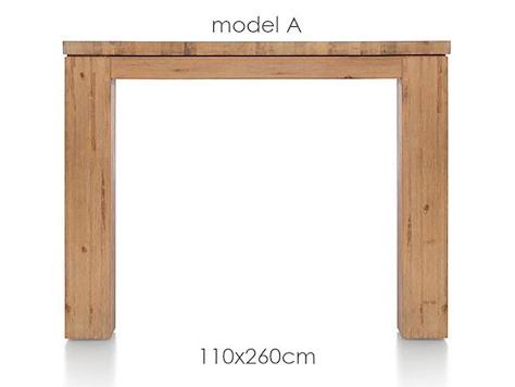 A La Carte, Tisch 260 x 110 cm - AAD-1
