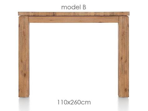 A La Carte, Tisch 260 x 110 cm - BEN-1