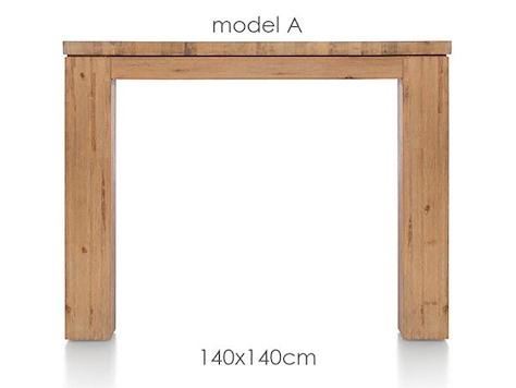 A La Carte, Tisch 140 x 140 cm - AAD-1