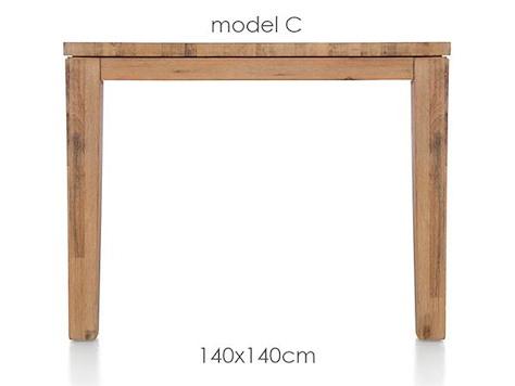 A La Carte, Tisch 140 x 140 cm - COR-1