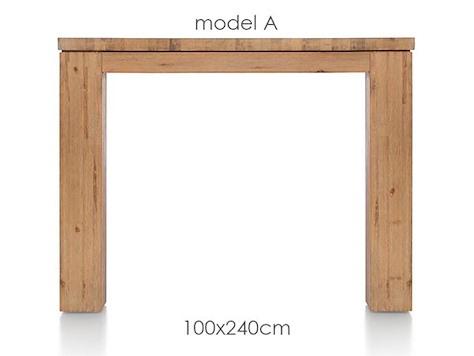 A La Carte, Tisch 240 x 100 cm - AAD-1