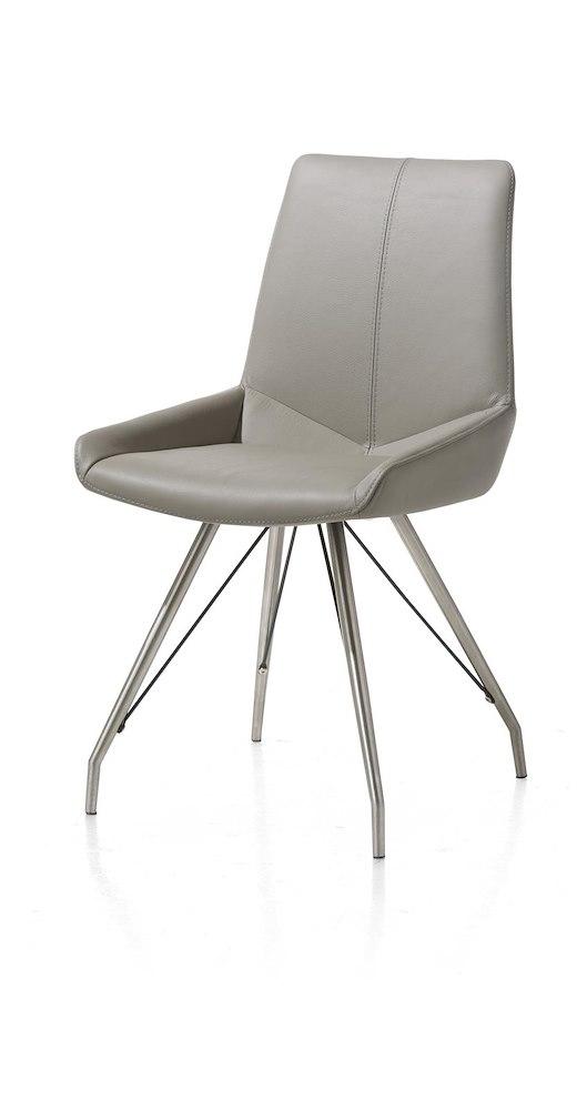 levi eetkamerstoel rvs spin frame henders hazel. Black Bedroom Furniture Sets. Home Design Ideas