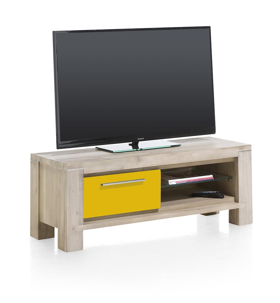 Multiplus tv dressoir 1 klep 2 niches henders hazel - Configuratie dressing ...