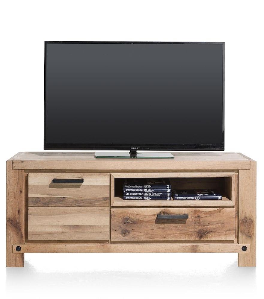 maitre lowboard 1 deur 1 lade 1 niche 140 cm led spot. Black Bedroom Furniture Sets. Home Design Ideas