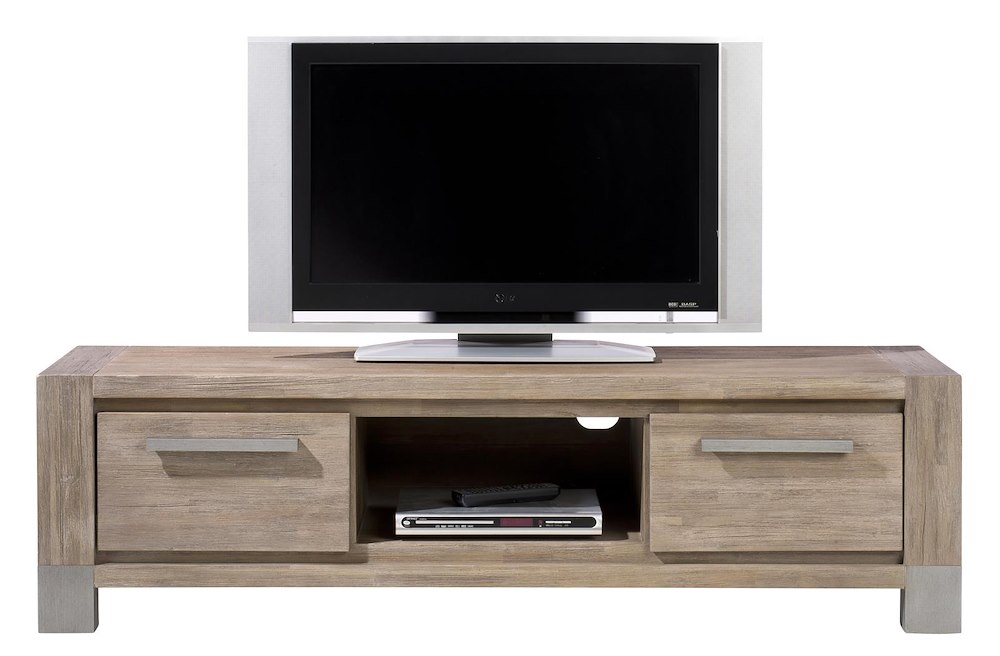 Kodiak tv dressoir 2 laden 1 niche henders hazel - Configuratie dressing ...