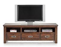 Cape Cod, Tv-dressoir 3-laden + 3-niches - 160 Cm