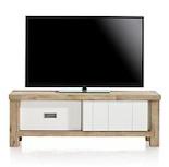 Istrana, Tv-dressoir 1-schuifdeur + 1-lade - 130 Cm