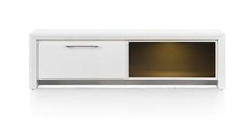 Kozani, Tv-dressoir 1-lade + 1-niche - 140 Cm