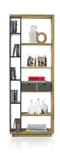 Modrava, Roomdivider 1-lade + 10-niches - 70 Cm