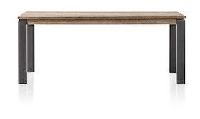 Modrava, Uitschuiftafel 160 (+ 60 Cm) X 100 Cm