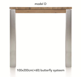 A La Carte, Uitschuif-bartafel 200 (+ 60) X 100 Cm - Dirk