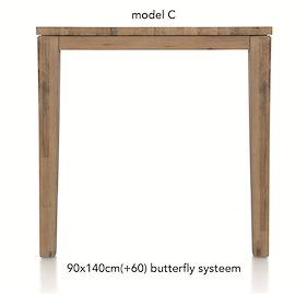 A La Carte, Uitschuif-bartafel 140 (+ 60) X 90 Cm - Cor