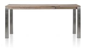 Masters, Uitschuif-bartafel 160 (+ 60) X 90 Cm - Rvs 9x9