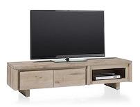 More, Tv-dressoir 2-kleppen + 1-niche 160 Cm - Hout