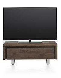 More, Tv-dressoir 1-klep 100 Cm - Rvs