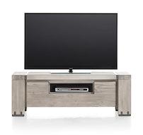 Avola, Tv-dressoir 1-klep + 1-niche - 130 Cm
