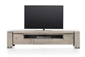 Avola, Tv-dressoir 2-kleppen + 1-lade + 1-niche - 190 Cm