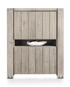 Avola, Bergkast 4-deuren + 1-niche
