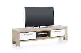 Multiplus, Tv-dressoir 1-lade + 1-klep + 2-niches - 180 Cm
