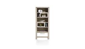 multiplus boekenkast 1 lade 7 niches 80 cm