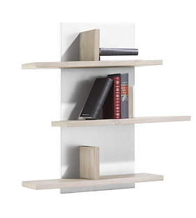 Multiplus, Wandplank 6-niches - 80 Cm