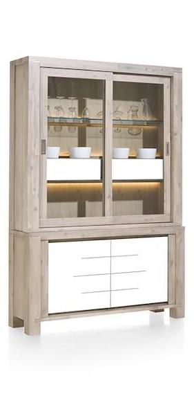 Multiplus, Buffet 2-glasdeuren + 2-deuren + 2-manden (+ Led)