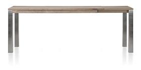 Ermondo, Uitschuif-bartafel 200 (+ 50) X 100 Cm (hoogte: 92 Cm)