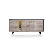 Eivissa, Dressoir 2-deuren + 3-laden + 2-niches - 210 Cm (+ Led Spot)