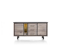 Eivissa, Dressoir 2-deuren + 3-laden + 2-niches - 180 Cm (+ Led Spot)