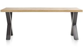 Metalox, Eetkamertafel 170 X 100 Cm