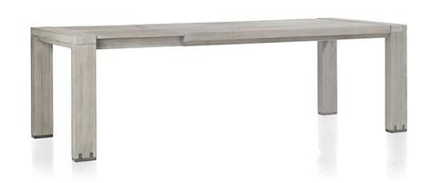 Avola, uitschuiftafel 190 (+ 60) x 100 cm