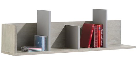 Avola, wandplank 4-niches - 120 cm