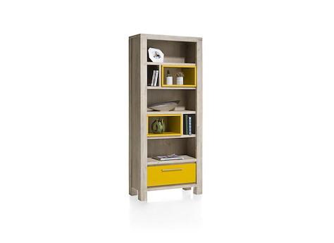 MultiPlus, boekenkast 1-lade + 7-niches - 80 - Henders & Hazel