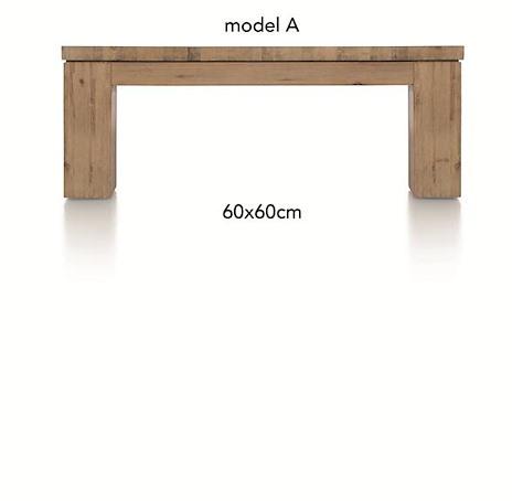 A La Carte, salontafel 60 x 60 cm - AAD-1