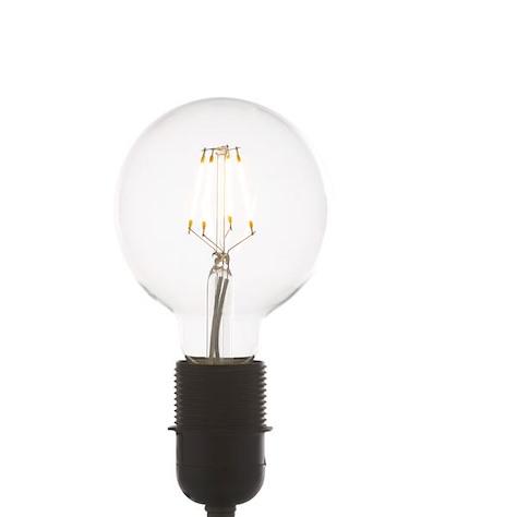 led E-27 - globe - warm white