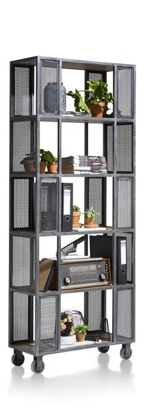 Vitoria, roomdivider 5-niches - 80 cm
