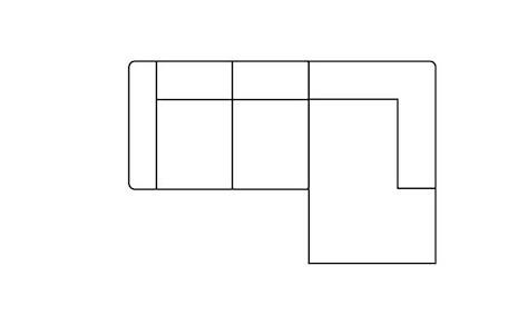 Zembla, 2-zits + longchair rechts