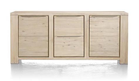 Buckley, dressoir 2-deuren + 2-laden 180 cm