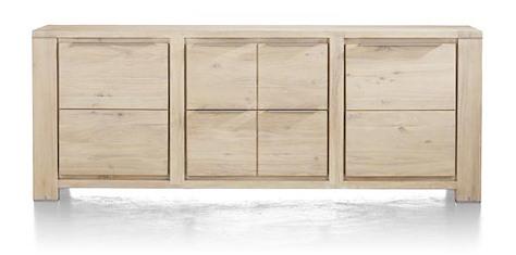 Buckley, dressoir 2-deuren + 2-laden 220 cm