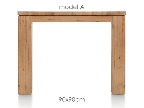 A La Carte, eetkamertafel 90 x 90 cm - AAD-1