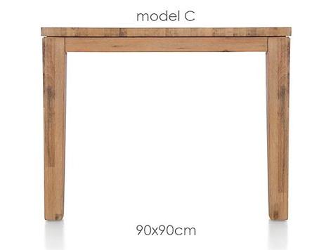 A La Carte, eetkamertafel 90 x 90 cm - COR-1