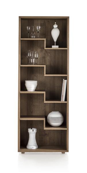 Santorini, boekenkast 5-niches