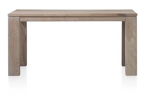 Masters, uitschuiftafel 160 (+ 60) x 90 cm - hout 9x9