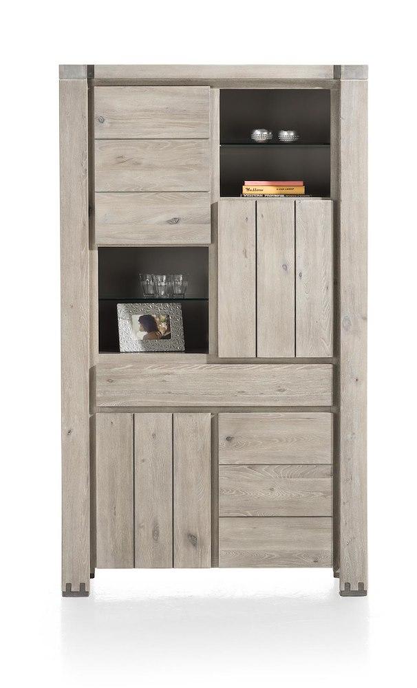 armoire avola 4 portes 1 tiroir 4 niches heth. Black Bedroom Furniture Sets. Home Design Ideas